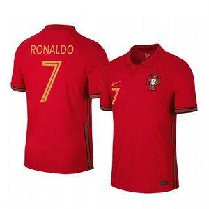 Portugal Cristiano Ronaldo Red Jersey
